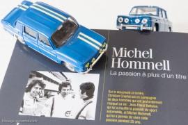 Michel Hommell, La passion à plus d'un titre - Passion pour la R8 Gordini (ici Norev et Solido)
