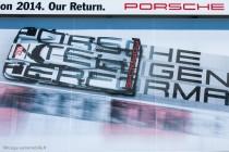 24h du Mans 2014 - Porsche affiche son retour