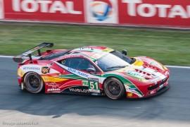 15ème 24h du Mans 2014 - Ferrari 458 Italia n°51 - Bruni/Vilander/Fisichella - Vainqueur classe LMGTE Pro