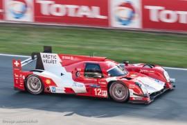 4ème 24h du Mans 2014 - Rebellion R-one - Toyota n°12 - Prost/Heidfeld/Beche