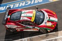 24h du Mans 2014 - Ferrari 458 Italia - abandon