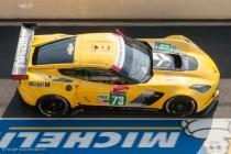 24h du Mans 2014 - Chevrolet Corvette C7 - la première Corvette classée, 16ème et 2ème du LMGTE Pro