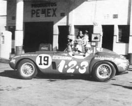 Ferrari 375 Plus, vainqueur de la Carrera Panamericana 1954