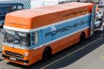 Le Mans Classic 2014 - Camion Porsche Gulf