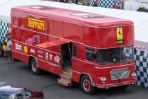 Le Mans Classic 2014 - Camion Ferrari