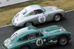 Le Mans Classic 2014 - Porsche 356 vs. Aston Martin DB2