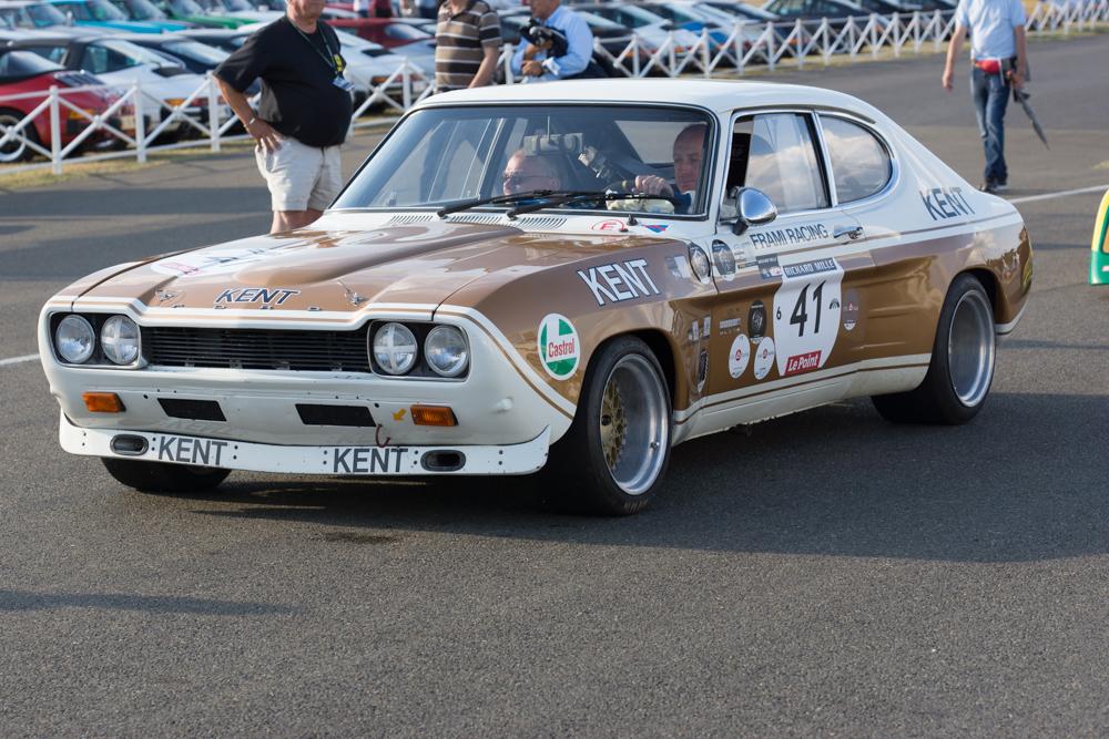 Le Mans Classic 2014 Ford Capri 2600 Rs 1972 Filrouge