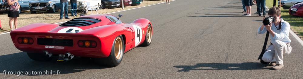 Le Mans Classic 2014 - Ferrari 312 P 1969 et Filrouge en reportage