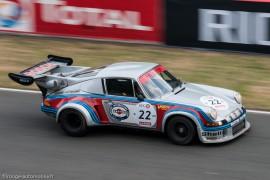 Le Mans Classic 2014 - Porsche 911 RSR turbo 1974