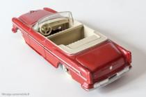 Dinky Toys 24 A - Chrysler New Yorker cabriolet - un intérieur en zamak