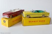 Dinky Toys 24 A - Chrysler New Yorker cabriolet - les 2 couleurs habituelles