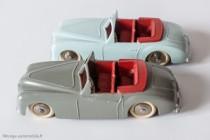 Dinky Toys 24 S - Simca 8 sport - pare-brise mince et épais