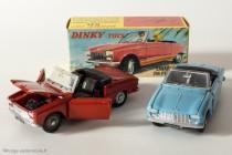 Dinky Toys 511 - Peugeot 204 cabriolet - les 2 coloris