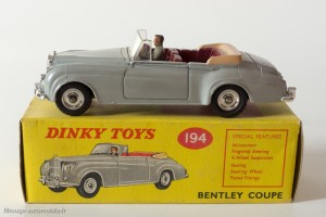 Dinky Toys anglais 194 - Bentley S cabriolet