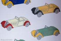 Dinky Toys 22 a - Roadster sport - dessin livre C.Wagner