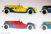 Dinky Toys 24 h - Roadster sport 2 places - dessin livre C.Wagner