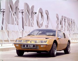 Renault Alpine A310 - photo de 1971