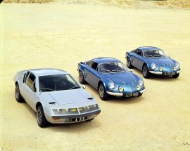 Renault Alpine A310  et Alpine Berlinette - photo de 1971