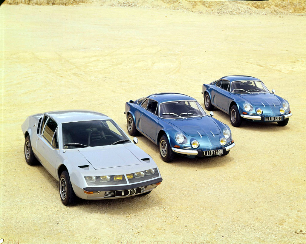 une voiture une miniature renault alpine a310 v6 pack. Black Bedroom Furniture Sets. Home Design Ideas