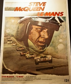 Affiche du film Le Mans avec Steve McQueen