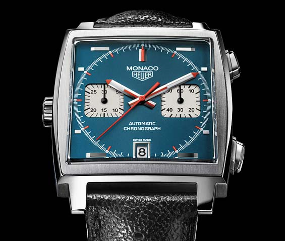 la montre heuer monaco de steve mcqueen filrouge automobile. Black Bedroom Furniture Sets. Home Design Ideas