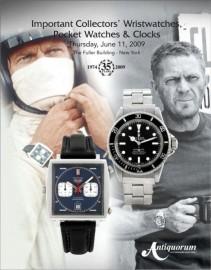 Vente aux enchères des montres de Steve McQueen