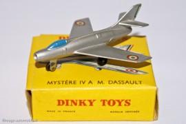 Dinky Toys 60A - Mystère IV  Marcel Dassault