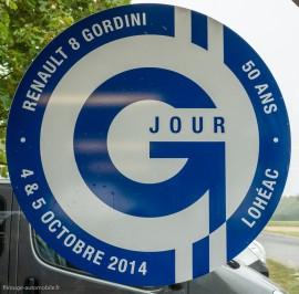 Jour G50 - 4 et 5 octobre 2014 - 50 ans de la Renault 8 Gordini