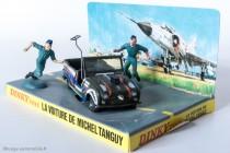 Renault 4 Sinpar de Tanguy et Laverdure - Dinky Toys réf. 1406 - Diorama original
