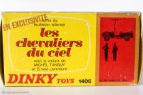 Renault 4 Sinpar de Tanguy et Laverdure - Dinky Toys réf. 1406 - Un boîtage original