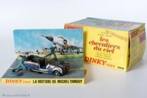 Renault 4 Sinpar de Tanguy et Laverdure - Dinky Toys réf. 1406 - Diorama et boîtage originaux