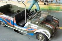 Renault 4 Sinpar de Tanguy et Laverdure - Dinky Toys réf. 1406 - pare-brise rabattable