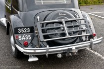 Citroën Traction 15-six 1952, porte bagages optionnel