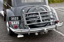 Citroën Traction 15-six 1952, porte bagages optionnel
