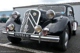 Traction Avant Citroën 15 six de 1952
