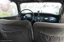 Citroën Traction 15-six 1952, intérieur spacieux
