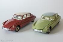 Citroën DS 19 réf. 530 - Dinky Toys - les deux seuls coloris d'origine
