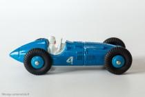 Dinky Toys 23H - Talbo Lago auto de course - roues peintes et un seul numéro côté droit