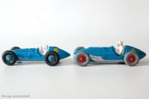 Talbot Lago Grand Prix - Dinky Toys réf. 23 H française et Dinky Toys réf. 230 anglaise