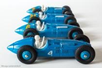 Dinky Toys 23H - Talbo Lago auto de course - ici 4 variantes