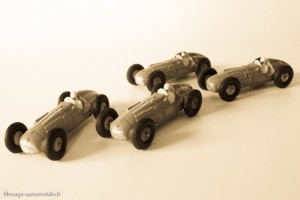 Dinky Toys réf. 23 H - Talbot Lago Grand Prix, n°1 des cours de récréation dans les années 50