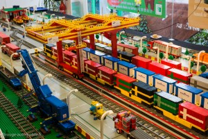 30ème Salon du jouet ancien et de collection de Betton (35) - Trains en Lego