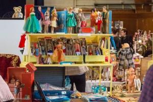 30ème Salon du jouet ancien et de collection de Betton (35) - Stand de poupées Barbie
