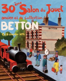 30ème Salon du jouet ancien et de collection de Betton (35) - Affiche