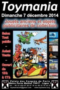 Salon Toymania 2014 - Affiche