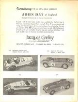 J. Grelley importateur exclusif des John Day au 1/43ème en 1976