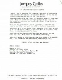 J. Grelley importateur exclusif d'AMR en 1976