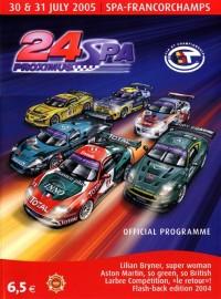 Affiche des 24 Heures de Spa 2005
