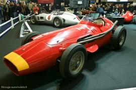 Rétromobile 2011  Maserati 250 F pour l'exposition Fangio