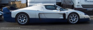 Maserati MC12 version route